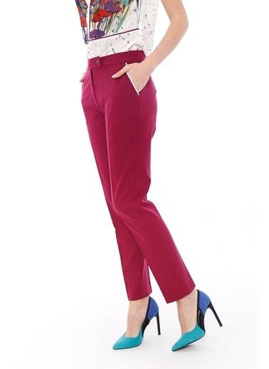 Soie Design Pantolon Mürdüm
